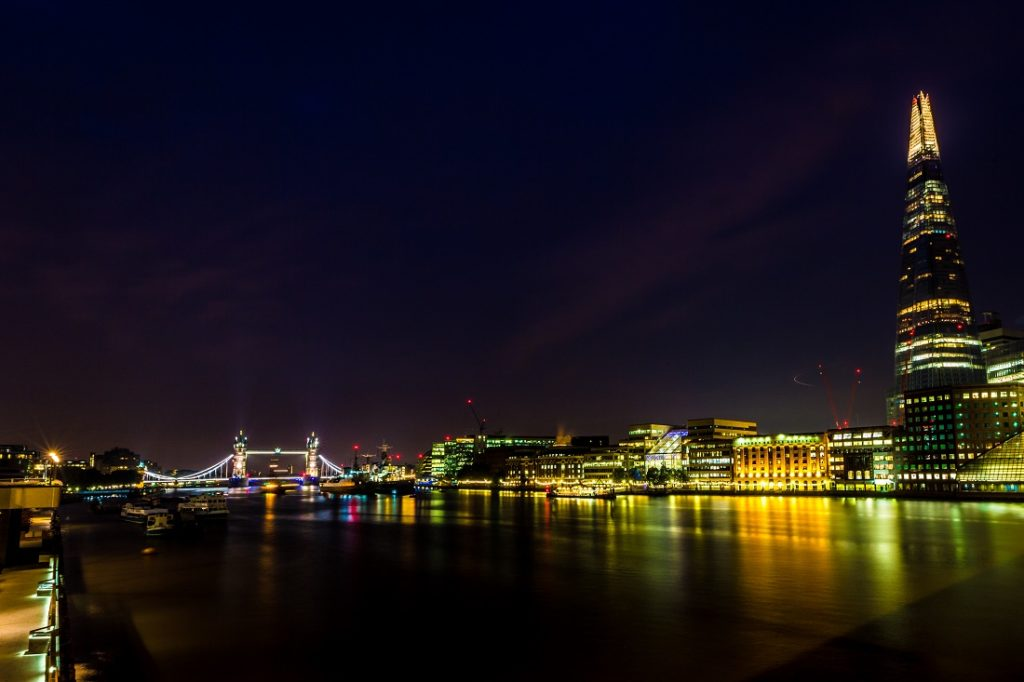 Image of the London skyline